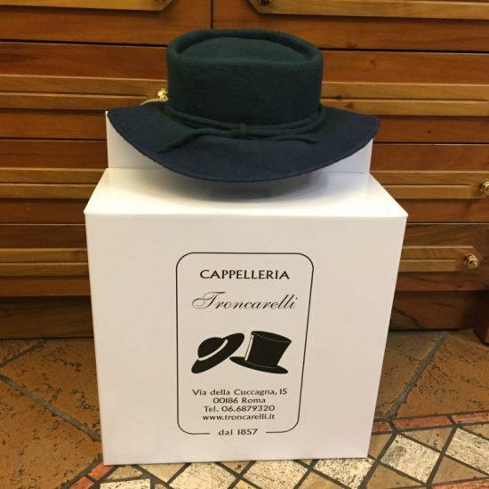 Antica Cappelleria Troncarelli Roma- Cappello modello Elisabeth by Karin Monica