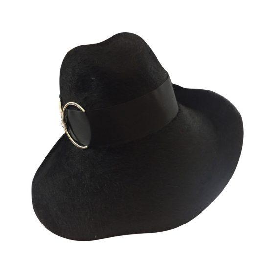 cappello-a-tesa-larga-nero-con-anello-by-Grevi-da-Antica-Cappelleria-Troncarelli-Roma