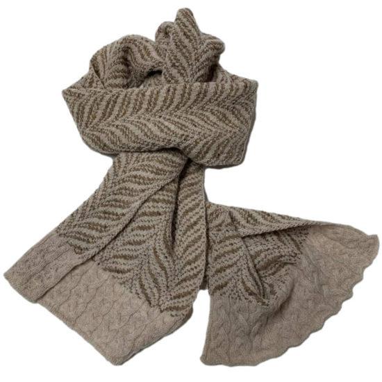 Antica Cappelleria Troncarelli – Roma – Aine sciarpa Donna Made in Ireland – lana – 02