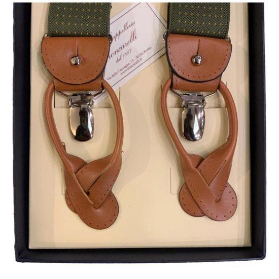 Antica Cappelleria Troncarelli Roma - Bretelle marca Bretelle and Braces per Troncarelli ACT04 dettaglio