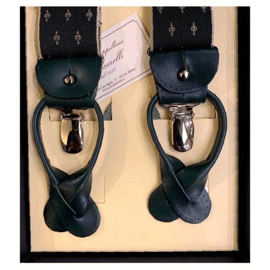 Antica Cappelleria Troncarelli Roma - Bretelle marca Bretelle and Braces per Troncarelli ACT05 dettaglio