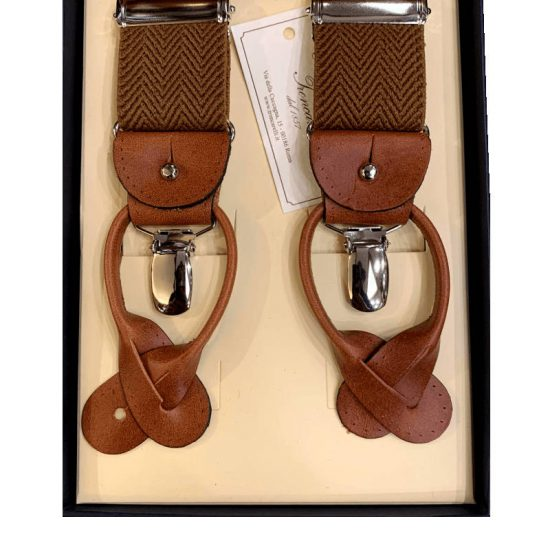 Antica Cappelleria Troncarelli Roma - Bretelle marca Bretelle and Braces per Troncarelli ACT06 dettaglio