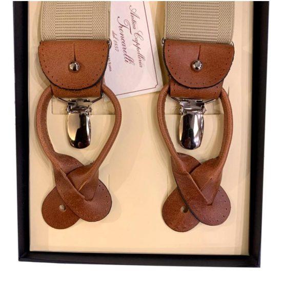 Antica Cappelleria Troncarelli Roma - Bretelle marca Bretelle and Braces per Troncarelli ACT07 dettaglio