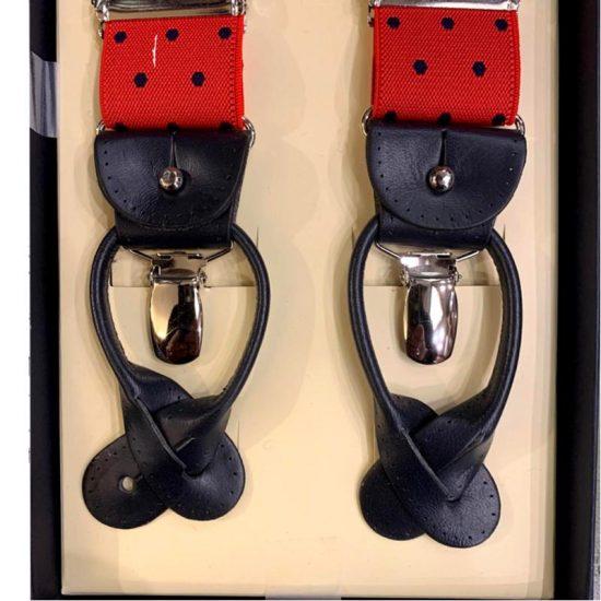 Antica Cappelleria Troncarelli Roma – Bretelle marca Bretelle and Braces per Troncarelli ACT08 dettaglio