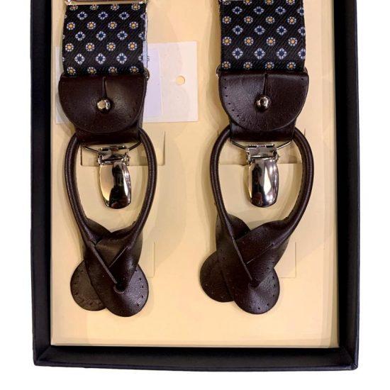 Antica Cappelleria Troncarelli Roma - Bretelle marca Bretelle and Braces per Troncarelli ACT09 dettaglio