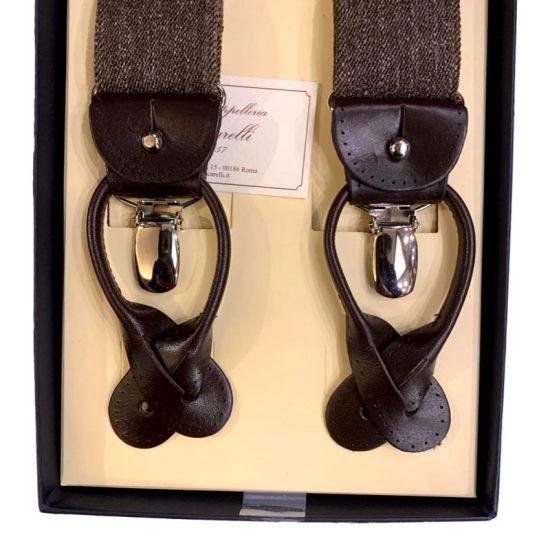 Antica Cappelleria Troncarelli Roma - Bretelle marca Bretelle and Braces per Troncarelli ACT13 dettaglio