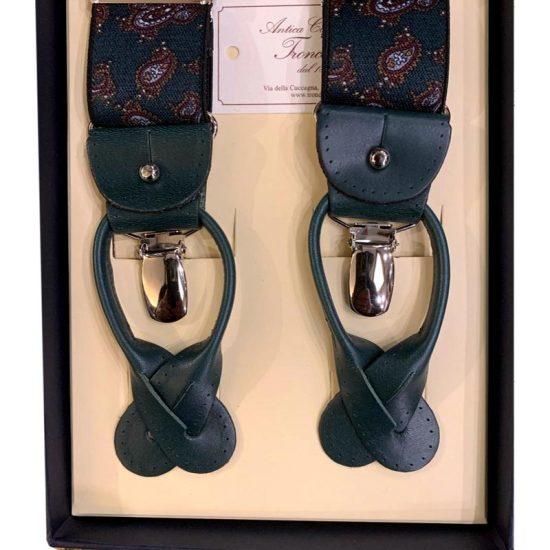 Antica Cappelleria Troncarelli Roma - Bretelle marca Bretelle and Braces per Troncarelli ACT16 dettaglio