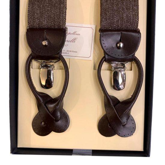 Antica Cappelleria Troncarelli Roma - Bretelle marca Bretelle and Braces per Troncarelli ACT17dettaglio