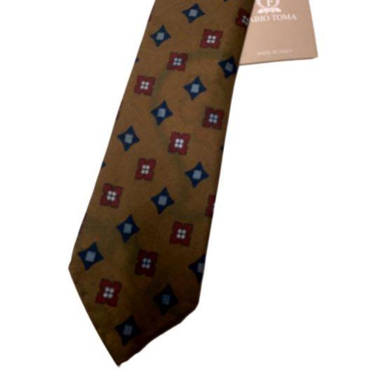 Antica Cappelleria Troncarelli Roma – Cravatta Fabio Toma dettaglio