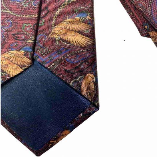 Antica Cappelleria Troncarelli Roma – Cravatta in seta by Fabio Toma Dettaglio