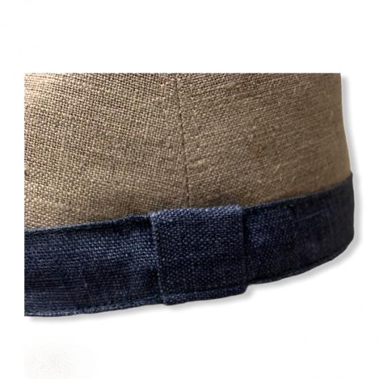 cappello lino by antica cappelleria troncarelli