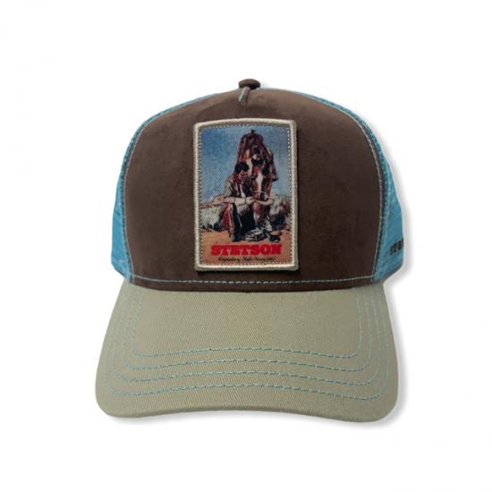 trucker cap last drop imag 2 by stetson