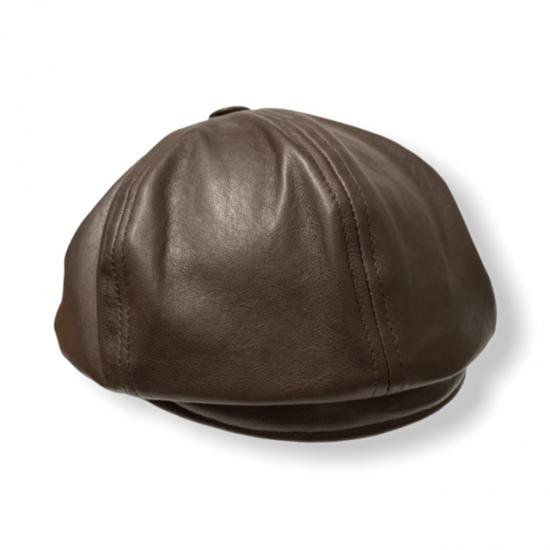 berretto irlandese pelle invecchiata troncarelli nuca