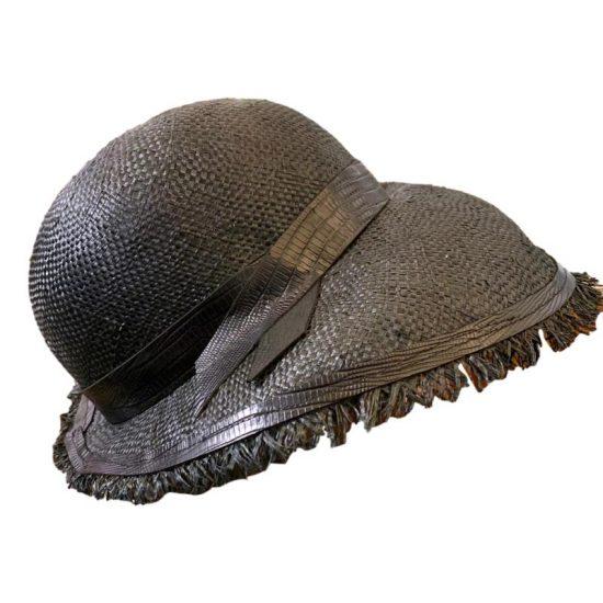 Antica Cappelleria Troncarelli Roma - Cappello in paglia modello Paris