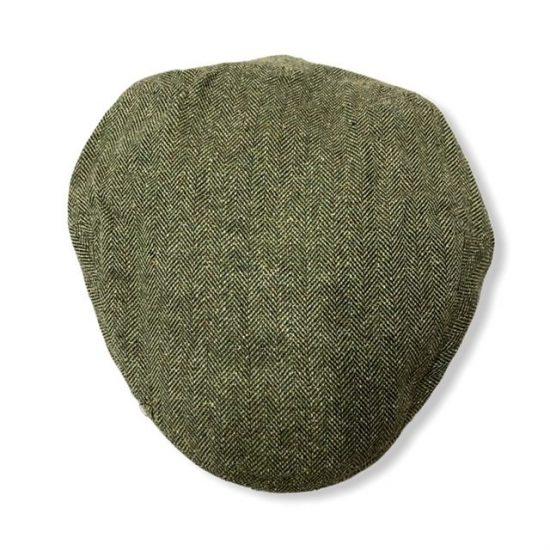 antica cappelleria troncarelli coppola driver seta e cotone stetson-verde