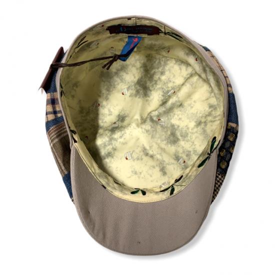 antica cappelleria troncarelli roma berretto 8 spicchi patch 3 Alfonso d'este