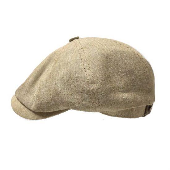 antica cappelleria troncarelli roma hatteras beige stetson lino