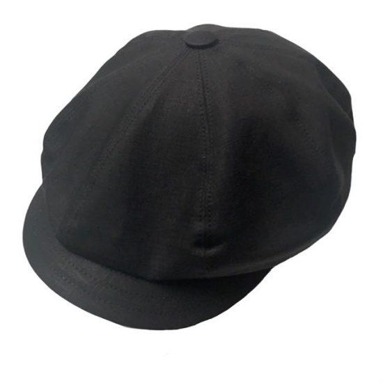 antica cappelleria troncarelli roma berretto 8-spicchi mod PB 3 lino