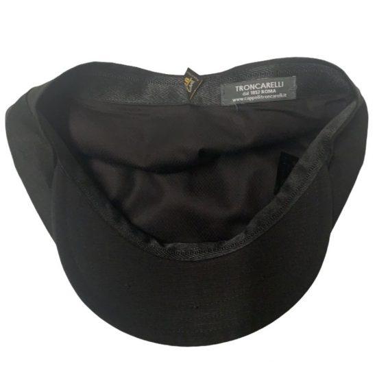 antica cappelleria troncarelli roma berretto 8-spicchi mod PB 4 lino