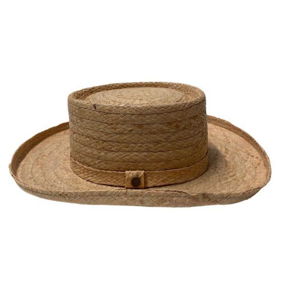 antica cappelleria troncarelli roma planter cappello 4 raffia