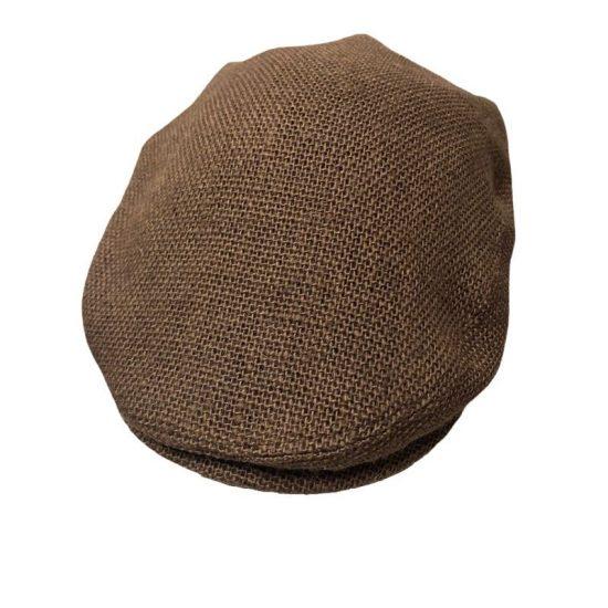 antica cappelleria troncarelli roma berretto yuta marrone