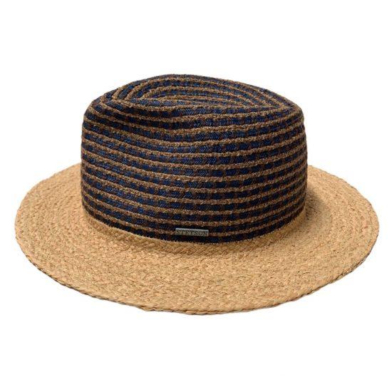 antica cappelleria troncarelli roma cappello stetson traveller viscosa cotone