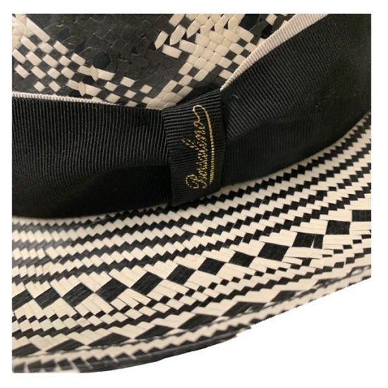 antica cappelleria troncarelli roma cappello papier fantasia tesa media 2 borsalino