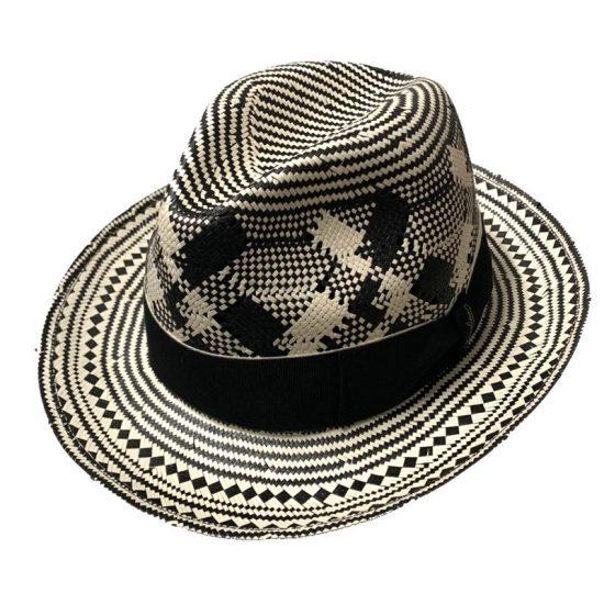antica cappelleria troncarelli roma cappello papier fantasia tesa media 3 borsalino