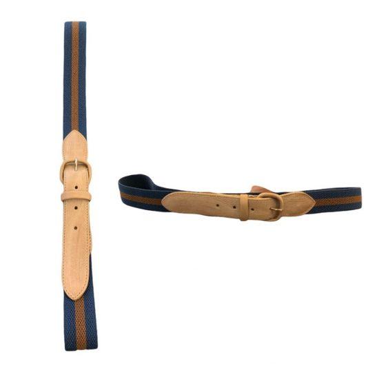 antica cappelleria troncarelli roma cintura elastica 2 bicolore