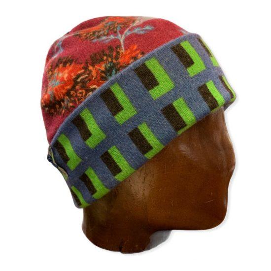 antica cappelleria troncarelli roma cappello reversibile in cashmere 5
