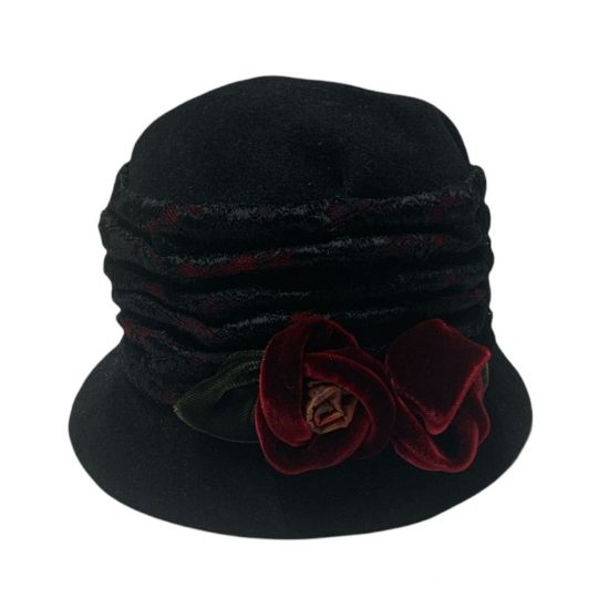 antica cappelleria troncarelli roma grevi cappello nero in lapin.jpg2
