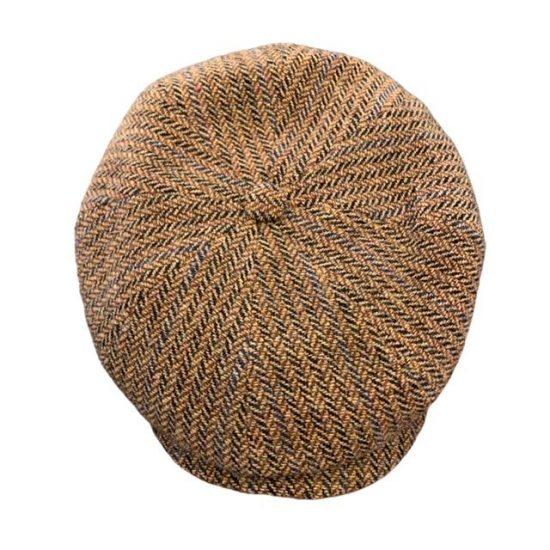 antica cappelleria troncarelli roma hatteras virgin wool herringbone.jpg2