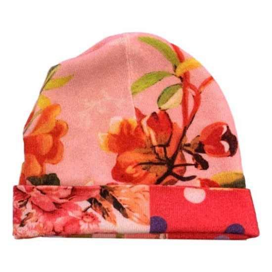 Antica Cappelleria Troncarelli Roma – Cappello reversibile by In bed with you – ATC05 – Rosa